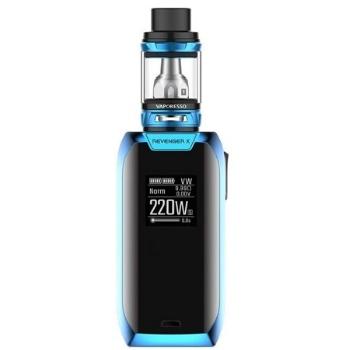 Vaporesso Revenger X, kit 220w, con mini tanque de 2 ml, color azul